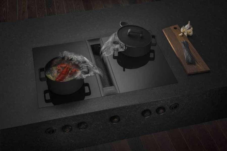 Sistema Bora Professional 2.0 nell'elegante versione all black
