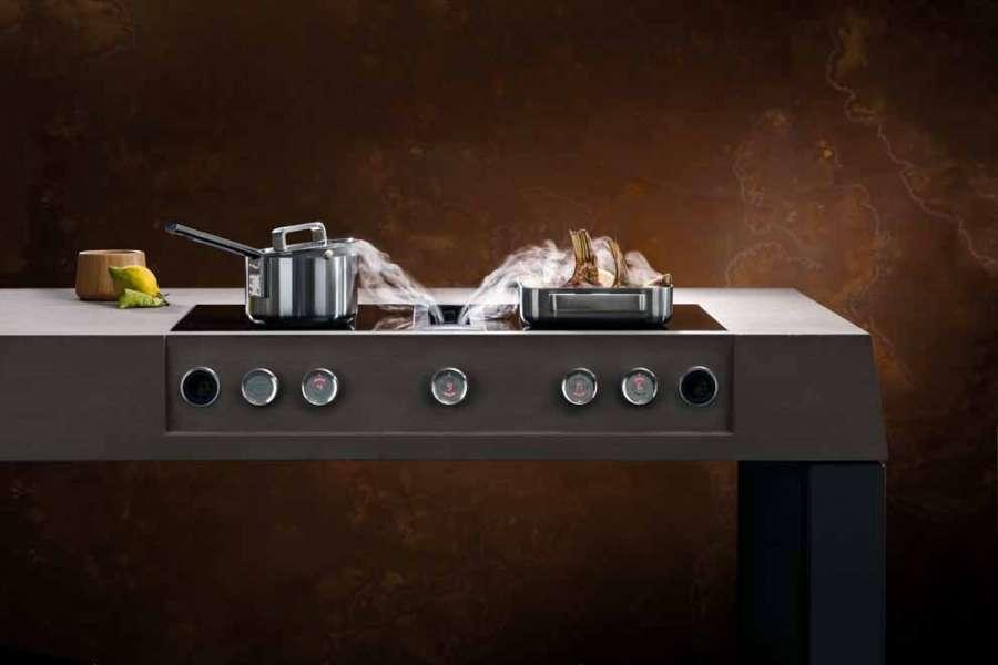 Sistema Bora Professional 2.0: blocco cucina sospeso