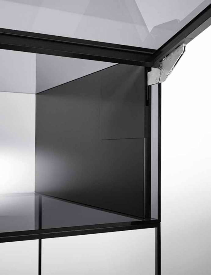 Kinvaro T-Slim by Grass: the almost invisible flap opening system for tilt and turn doors 0