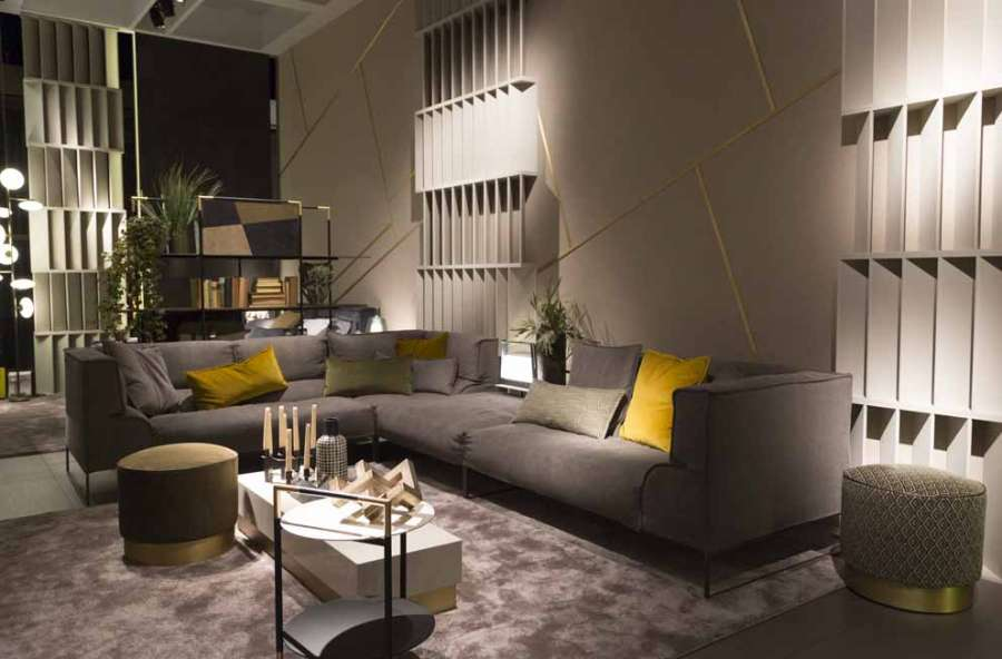 Lo stand Frigerio, nell'area Pure Atmospheres a imm cologne 2019