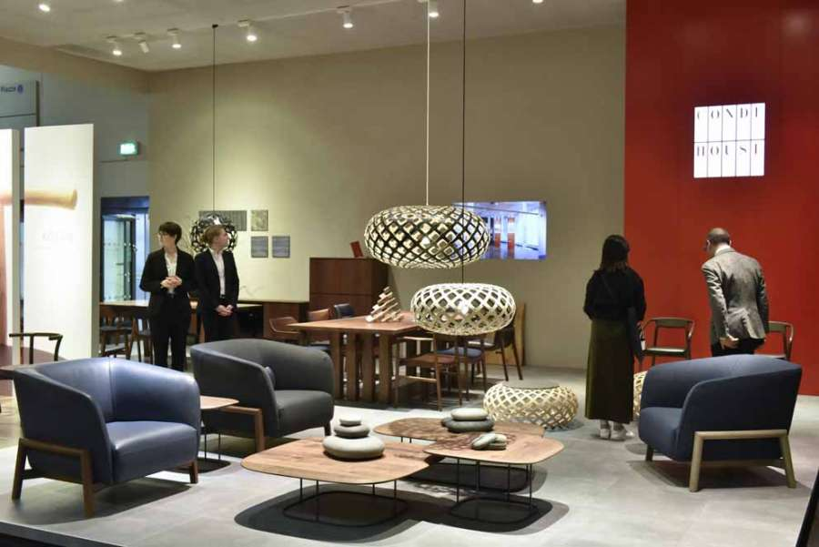 Lo stand Conde House a imm cologne 2019