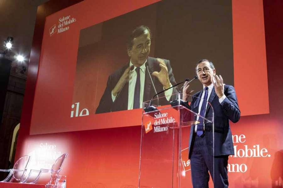 Salone del Mobile Milano 2020: il sindaco Sala alla conferenza stampa