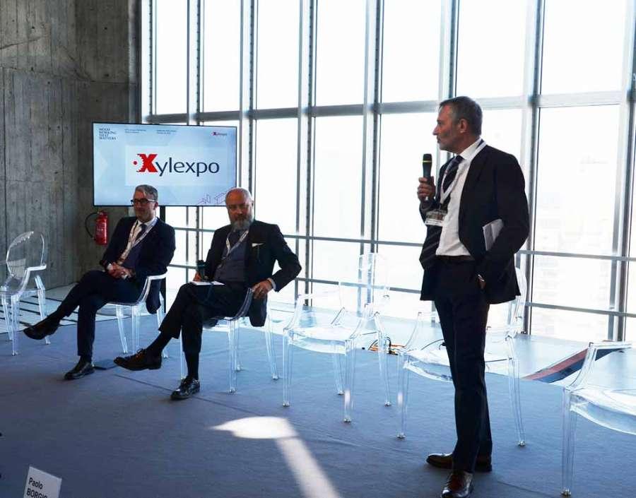 Xylexpo 2020: i relatori della conferenza stampa