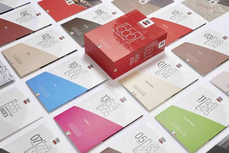 Piallacci naturali tinti e multilaminari: un'immagine del Red Box 555 di Tabu