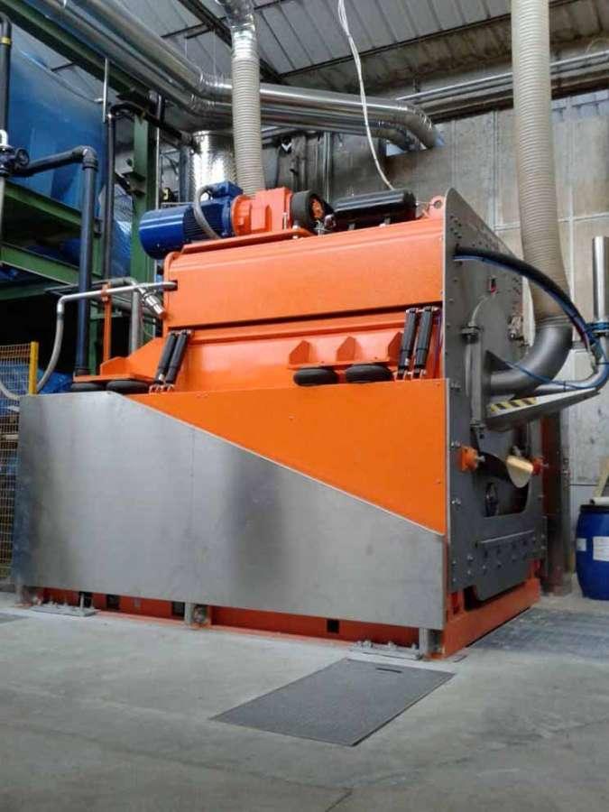 Nuovo impianto di lavaggio piume di Cinelli Piume e Piumini