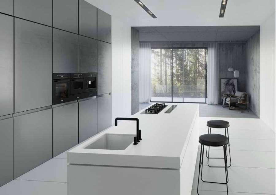 La collection Dekton® 2020 : la cuisine Dekton® Uyuni
