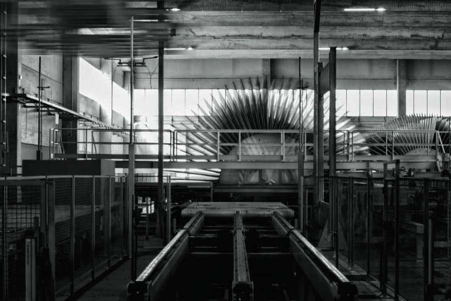 Impianto produttivo Saib per pannelli truciolari grezzi e nobilitati