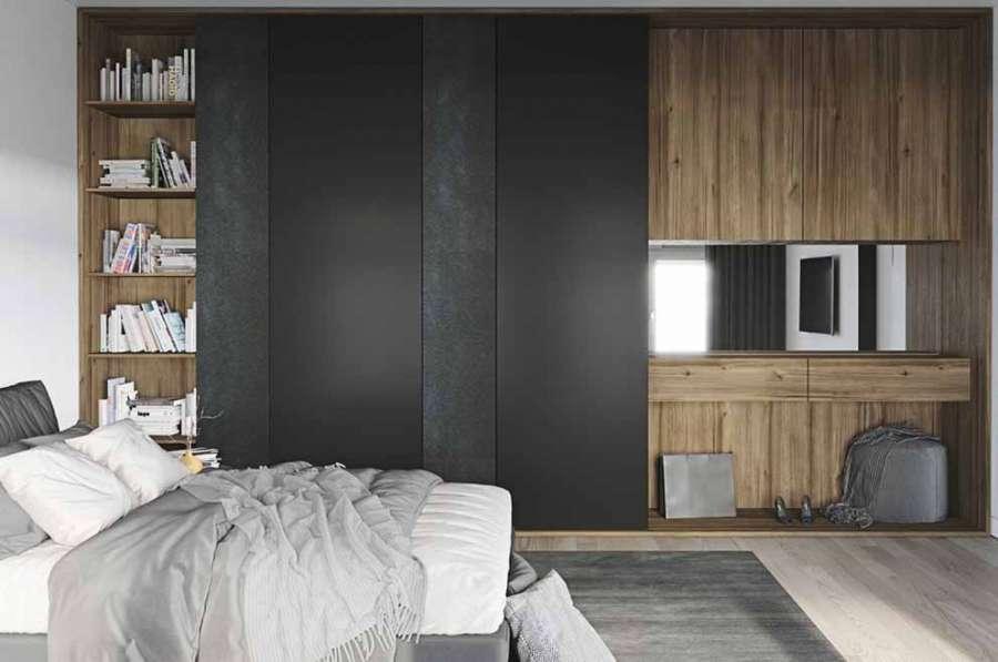 Il decorativo Amberwood di Schattdecor indicato anche in ambienti moderni