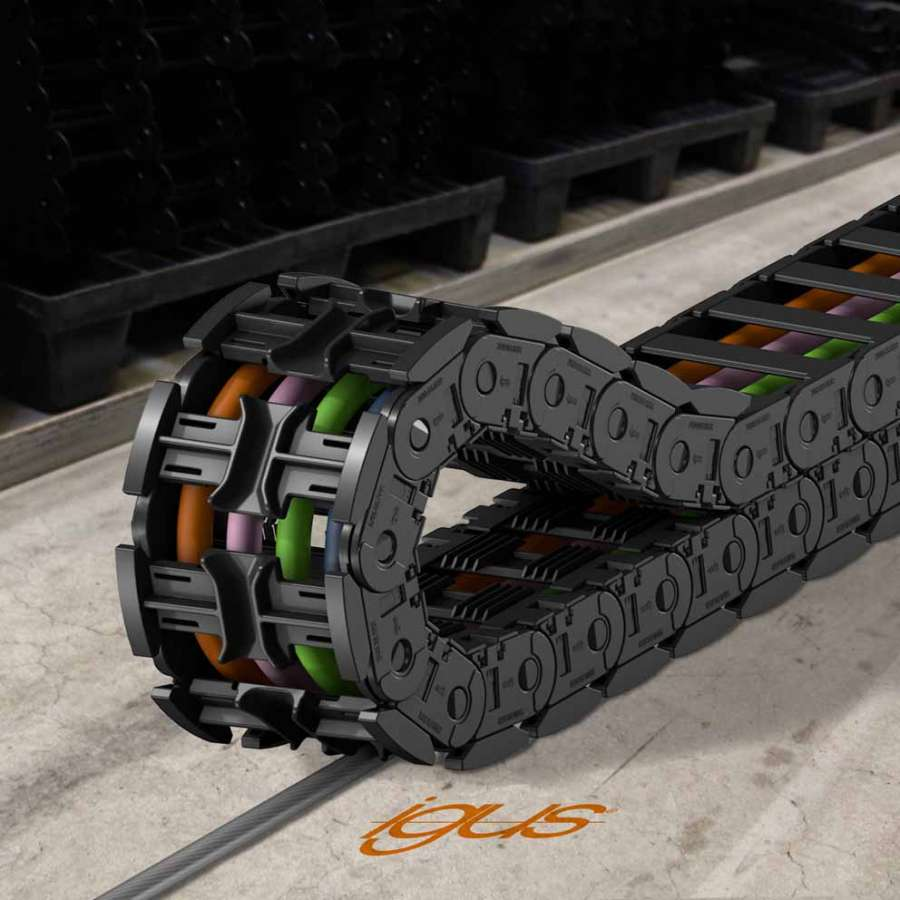 Le système de chaînes porte-câbles igus autoglive 5