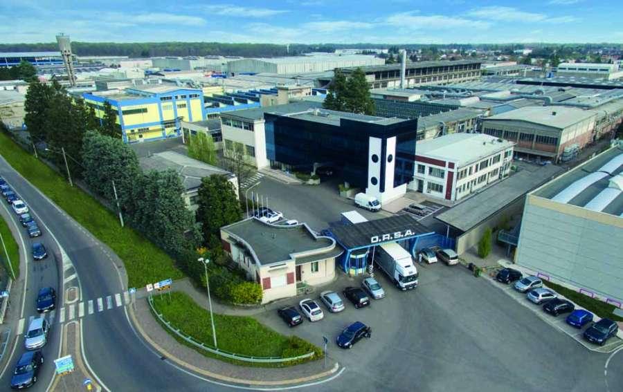 La fábrica de espuma de Orsa en Gorla Minore