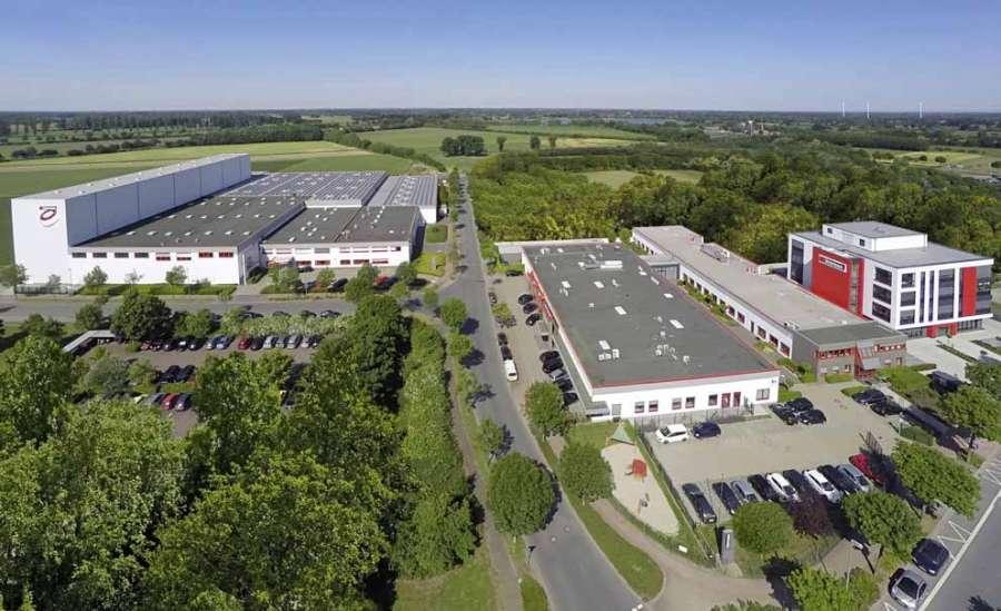 Nella sede centrale di Bocholt è stoccata la più vasta gamma di bordi in Europa