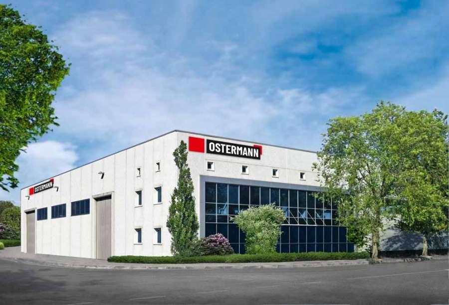 Ostermann è rappresentata in Italia con una filiale e una logistica indipendente