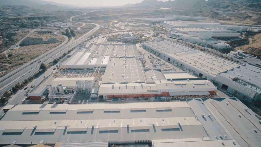 Parco Industriale Cosentino a Cantoria (Spagna)
