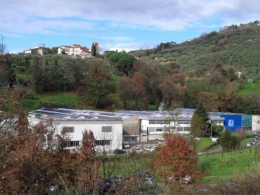 Cinelli Piume e Piumini: lo stabilimento a Buggiano (PT)