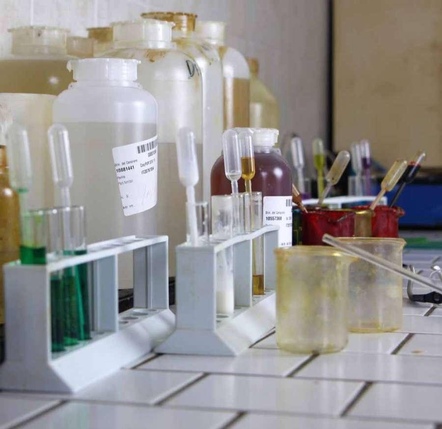 Il laboratorio di ricerca di Pelma