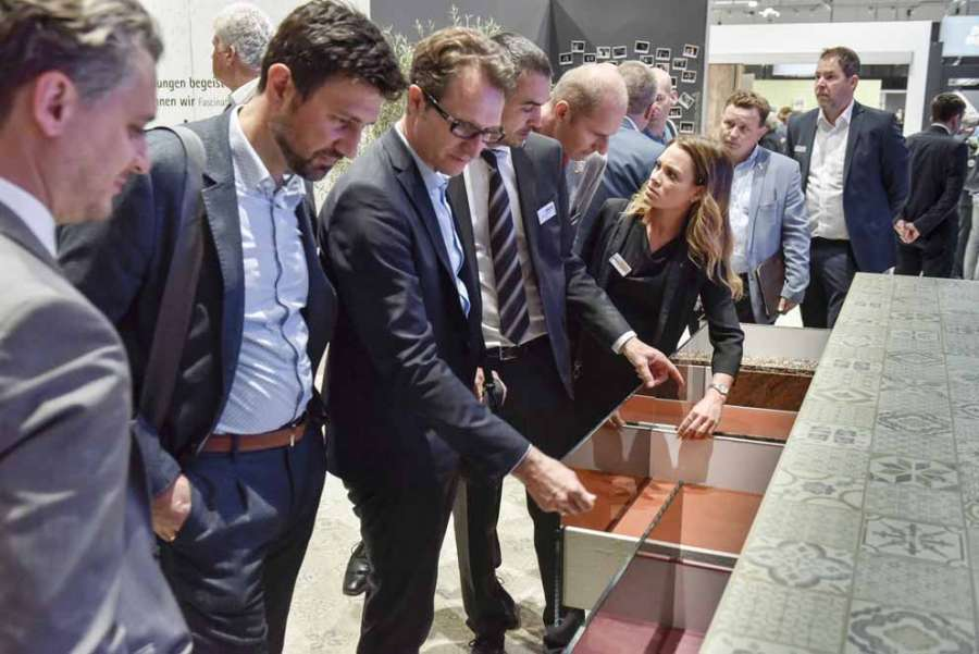 Hettich's stand at interzum 2019