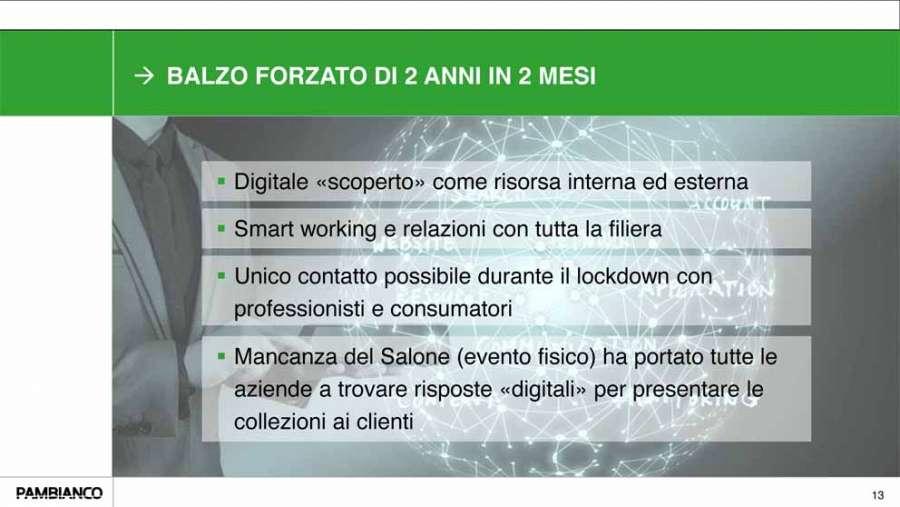 Ricerca Pambianco -  L'importanza della digitalizzazione