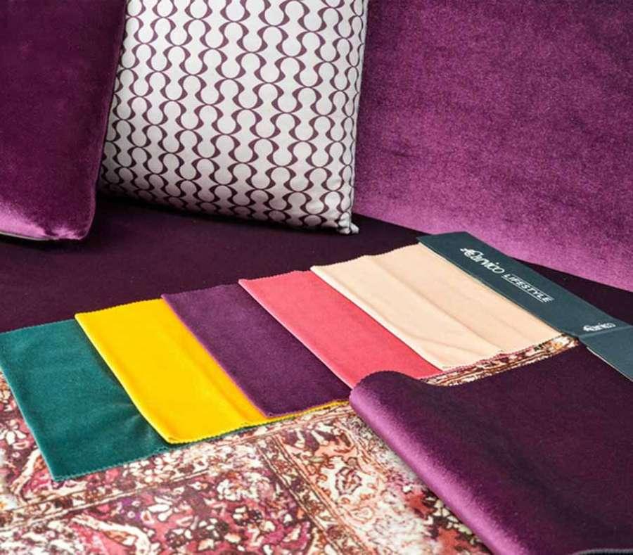 Carvico Lifestyle Collection furnishing fabrics