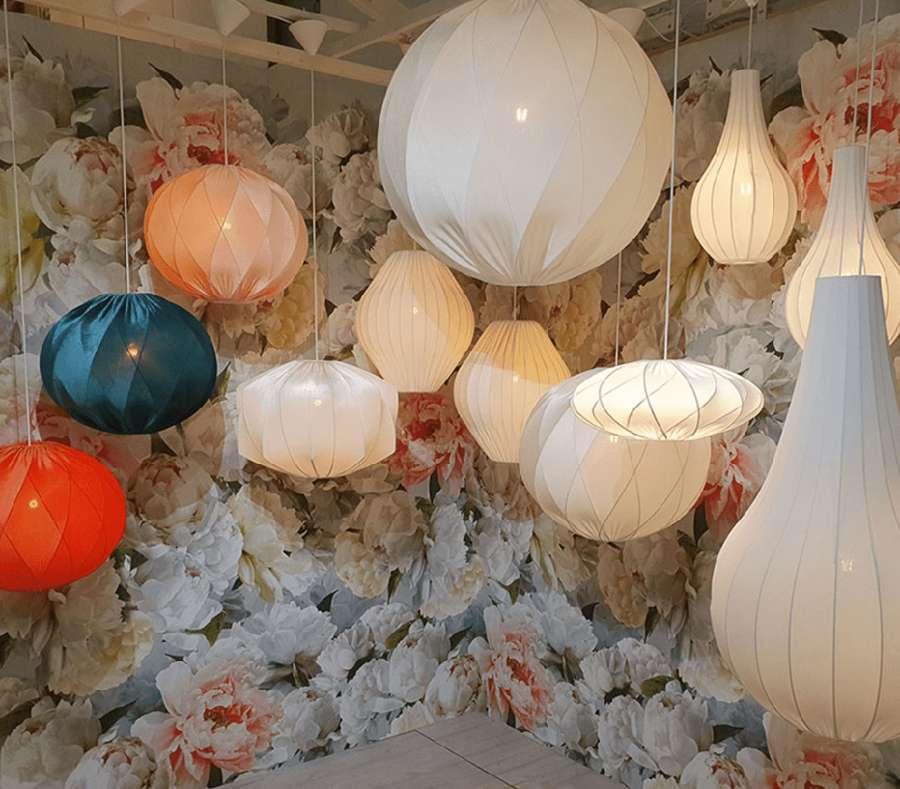 Carvico Panamá Telas de tapicería de estilo de vida utilizadas para la iluminación