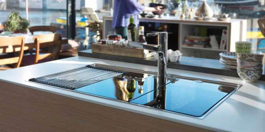 Collezione Frames by Franke: lavelli, piani cottura, forni, cappe  3