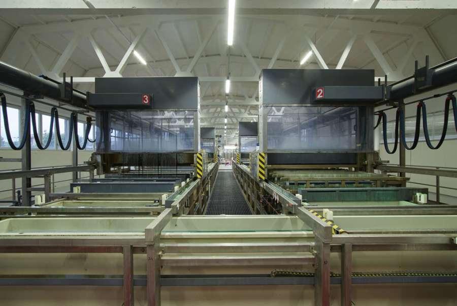 Fima Carlo Frattini presenta il nuovo impianto galvanico a impatto zero 0