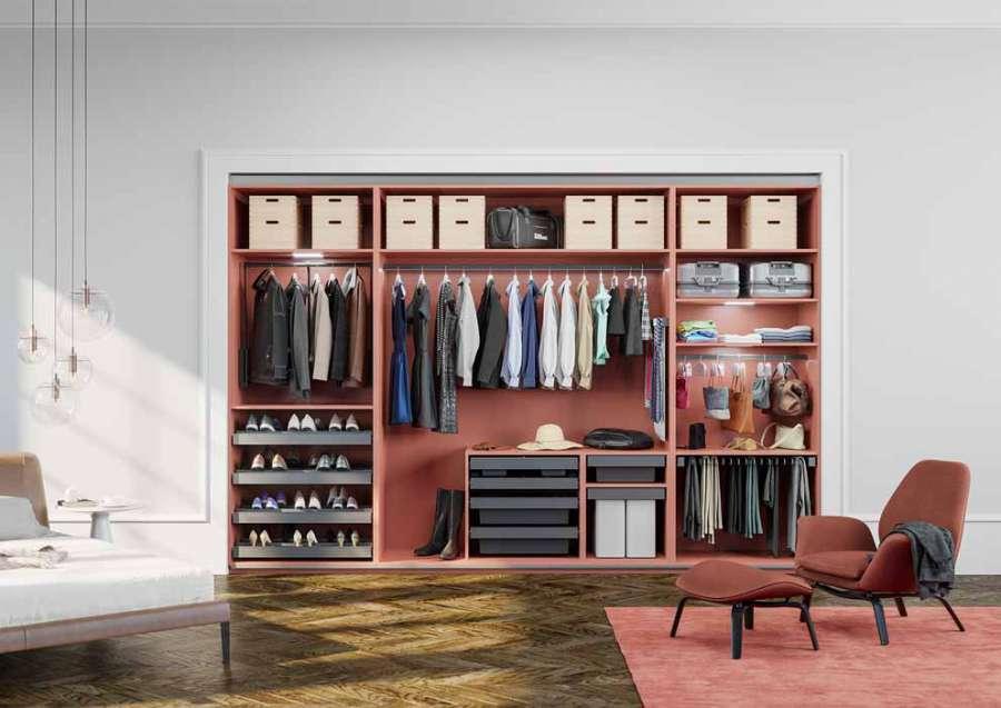 Easy Storage, il sistema di Häfele per l'organizzazione di armadi e cassetti 0