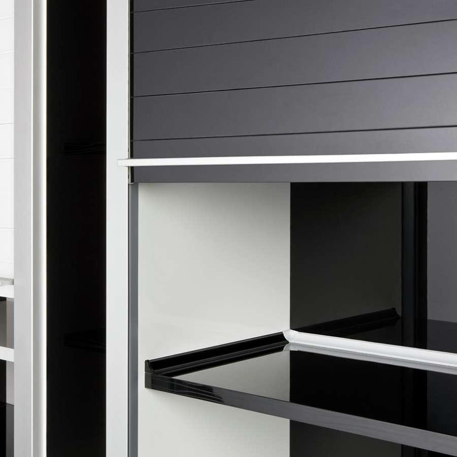 Sistemi a serrandina per mobili Rauvolet di Rehau: funzionalità e design 2