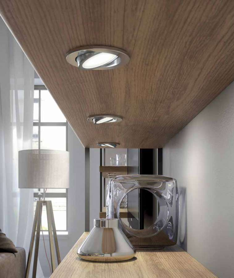 Orbit by Domus Line: an adjustable LED spotlight with diffused projection 0