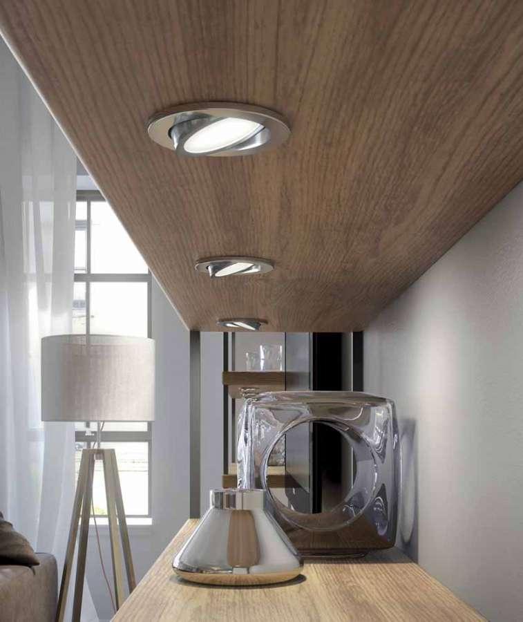 Orbit di Domus Line: un faretto a LED orientabile a proiezione diffusa 0