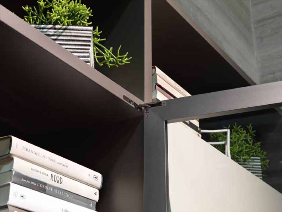 Air furniture hinge by Salice: a new combination of technology and aesthetics 3