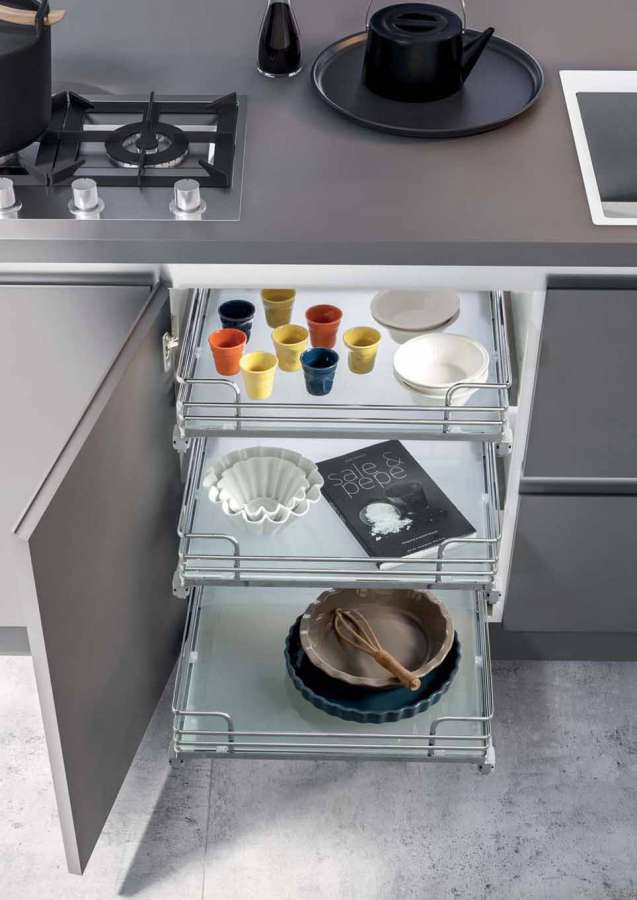 Vibo kitchen furniture accessories: a combination of design and functionality 0