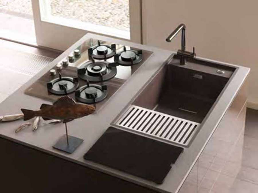 The super metallic colour collection for Franke Fragranite sinks 3