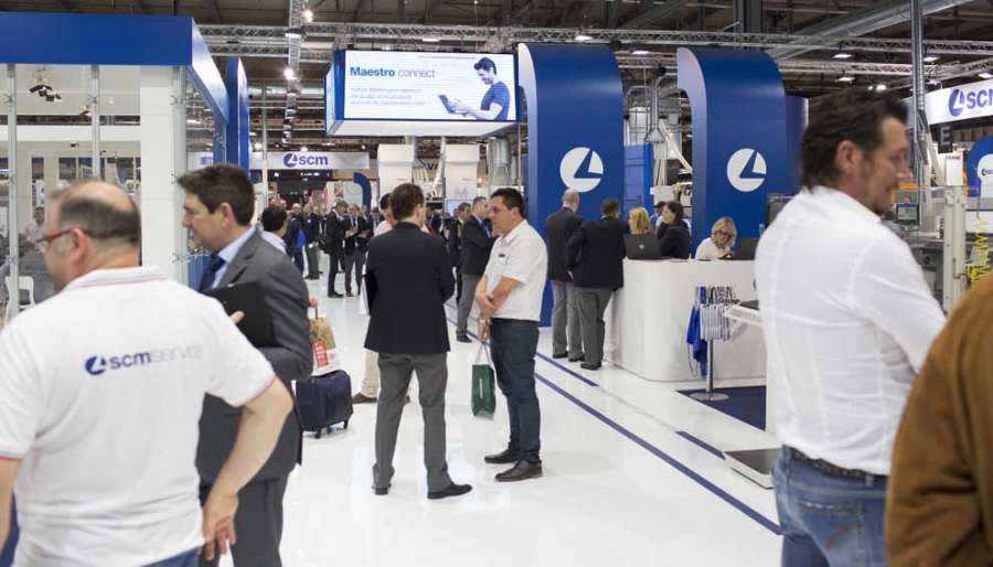SCM at Xylexpo 2018: great success for the new IoT system for Industry 4.0 2