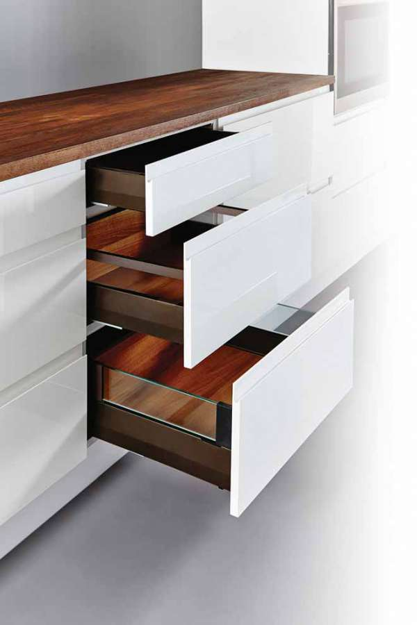 Moovit MX drawers system by Häfele: design, comfort and ease of assembly 0