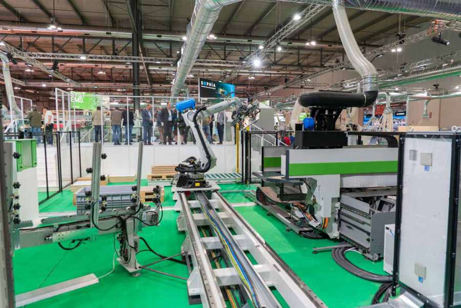 Biesse Automaction: systems and software for automation and digitalisation 2