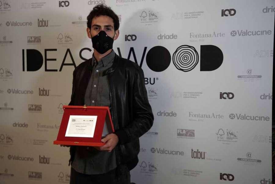 IDEASxWOOD 2020: Stefano Bertolini le gagnant pour la catégorie Étudiants