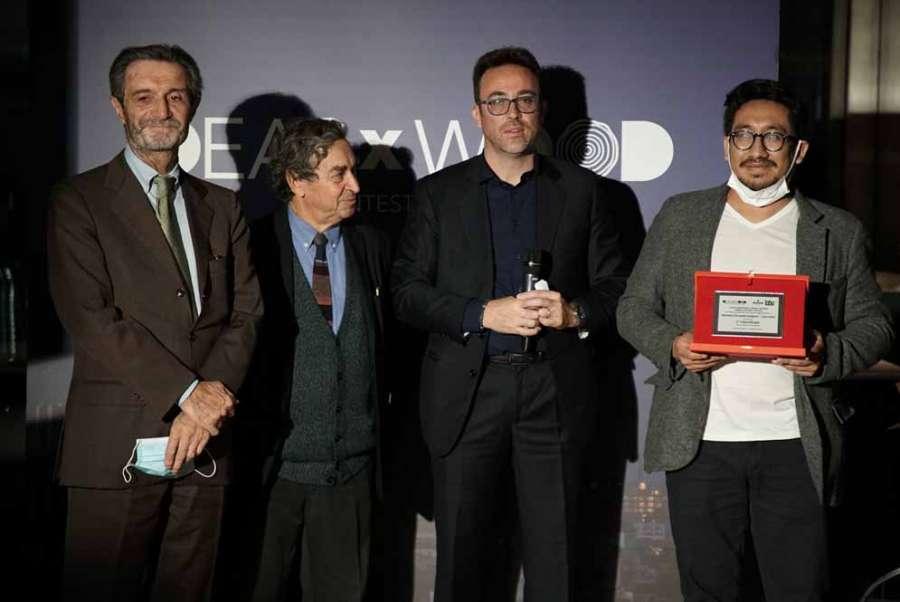 IDEASxWOOD 2020: le prix Carpanelli décerné à Geovanny Fernando Carignani et Luca Cotini pour la catégorie Professionnels