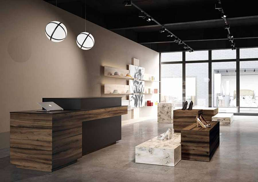 Il decorativo Noce Tortona della Decor Selection 2020 di Schattdecor