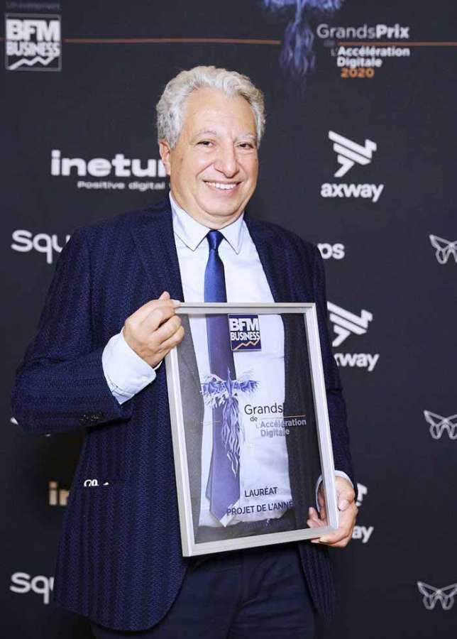 A Daniel Harari, CEO di Lectra, il Grand Prix BFM Business 2020