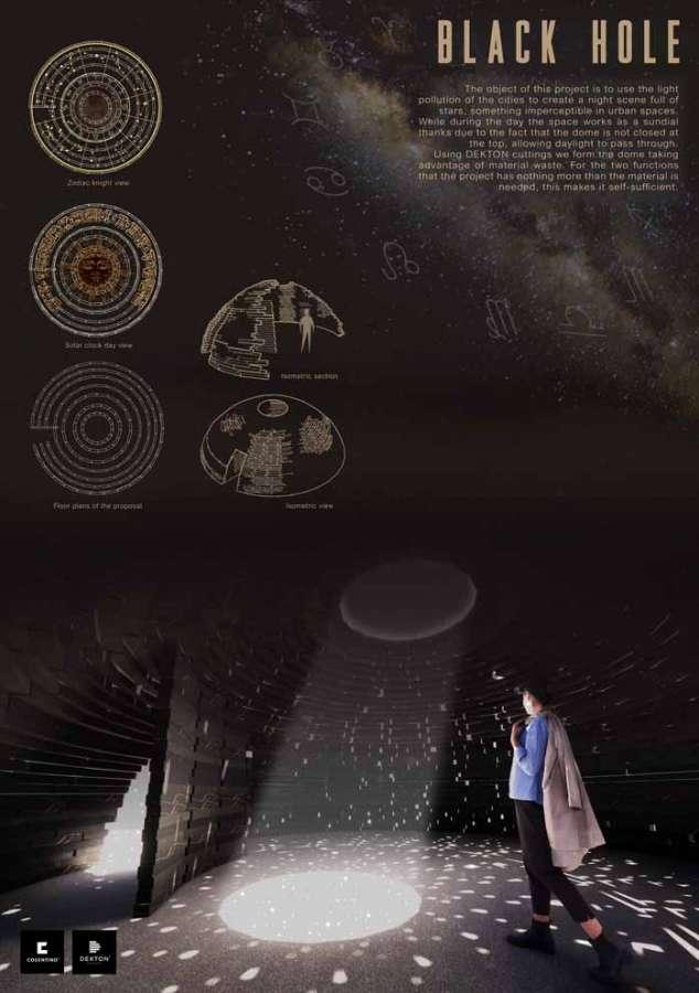 Cosentino Design Challenge 14: Black Hole von Alexandra Bailey
