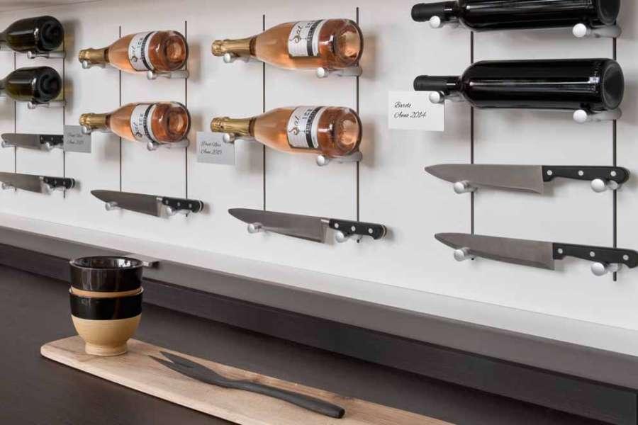 I sistemi per la disposizione di elementi Pin Wine e Pin Knife di Salice