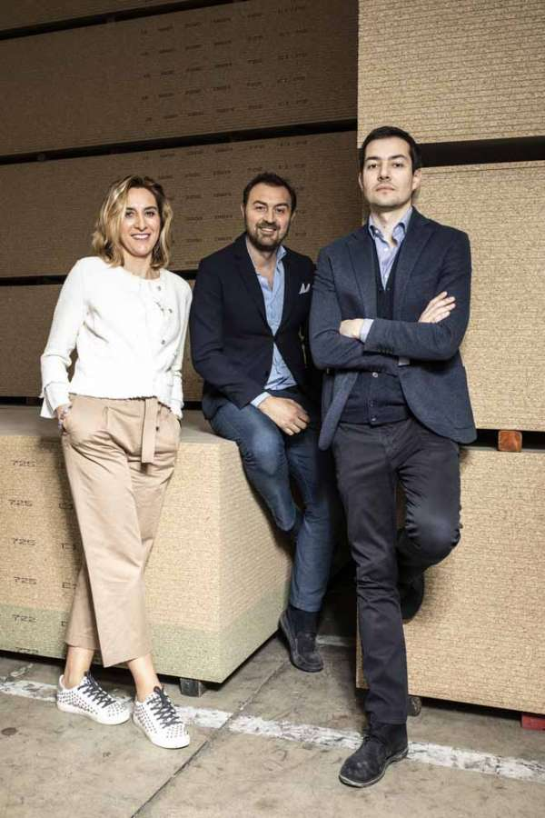Family team di Saib: Clara Conti, Giuseppe Conti e Sergio Doriguzzi
