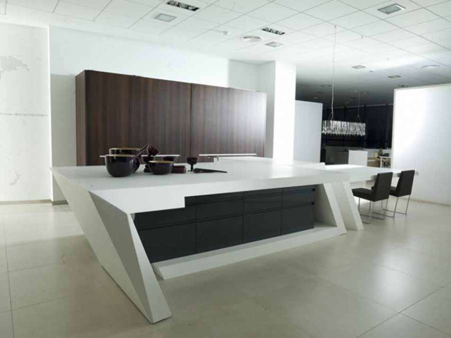 Solid surface ideal for kitchen worktops