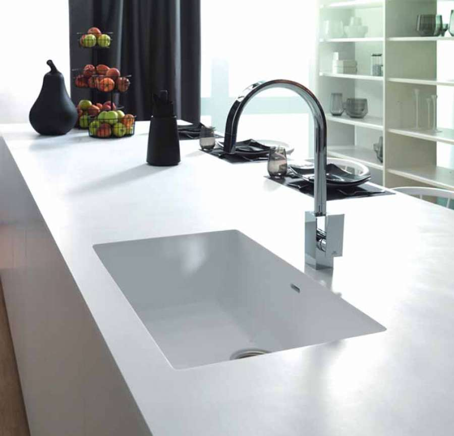 Solid surface Krion™ smooth, continuous surfaces for maximum hygiene