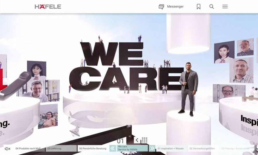La piattaforma digitale Häfele Discoveries all'insegna del We Care