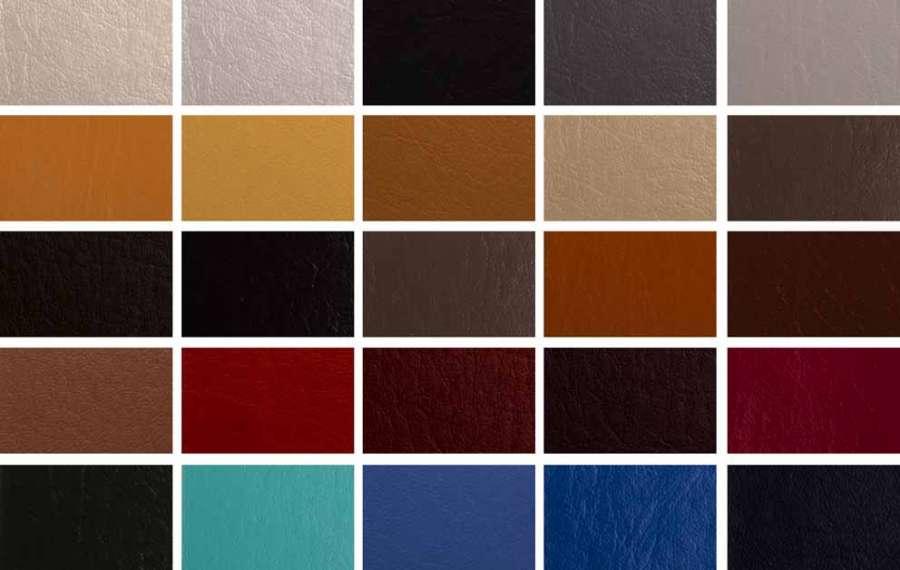 L'ampia gamma di colori della collezione di tessuti outdoor Auckland di MP