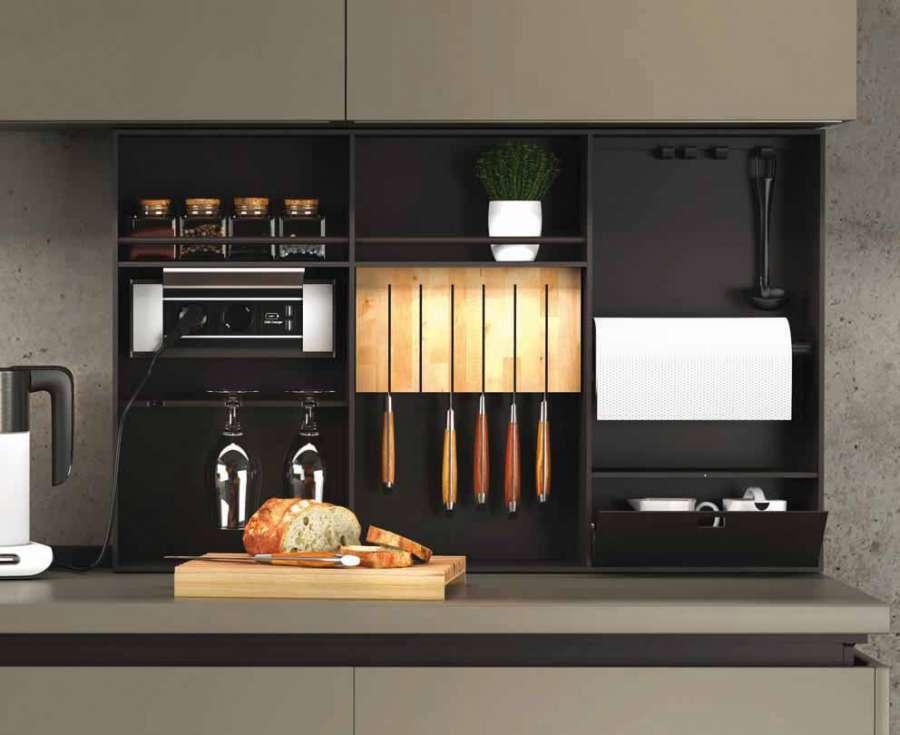 Modus, un elemento compositivo elegante e pratico, design Michele Marcon