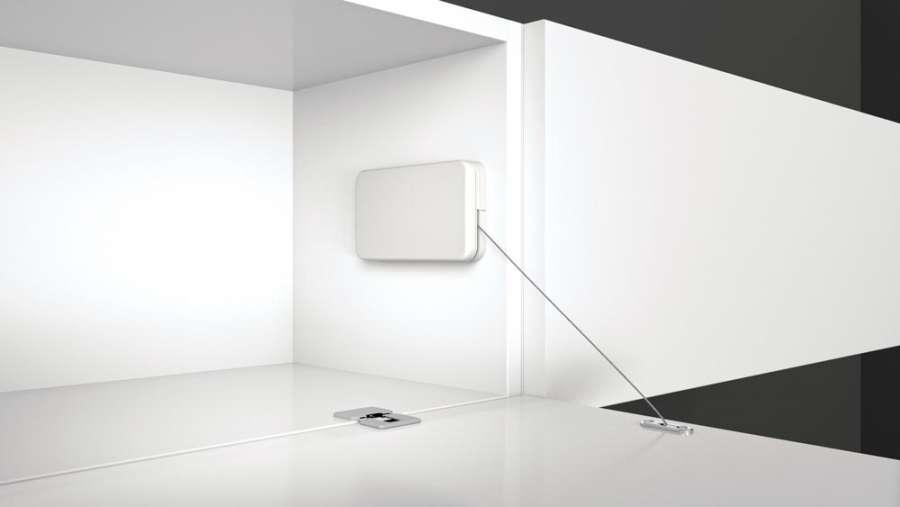 Miniwinch flap door mechanism by Effegibrevetti