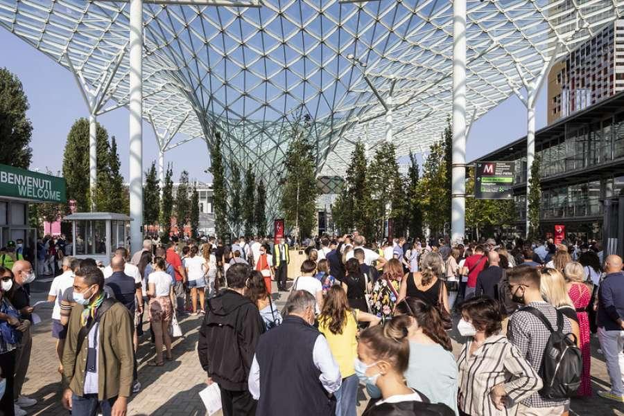 """""""supersalone"""", l'evento speciale 2021 del Salone del Mobile.Milano (Credits: Andrea Mariani)"""