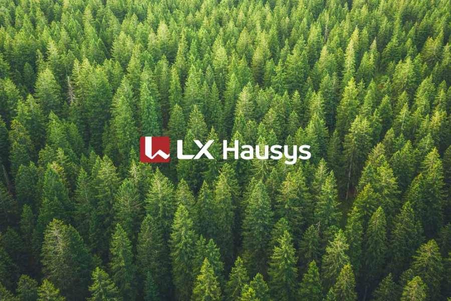 Il nuovo logo di LX Hausys
